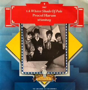 "Procol Harum - A Whiter Shade Of Pale (7"") (VG+/G-VG)"
